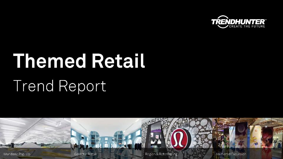 Themed Retail Trend Report Research