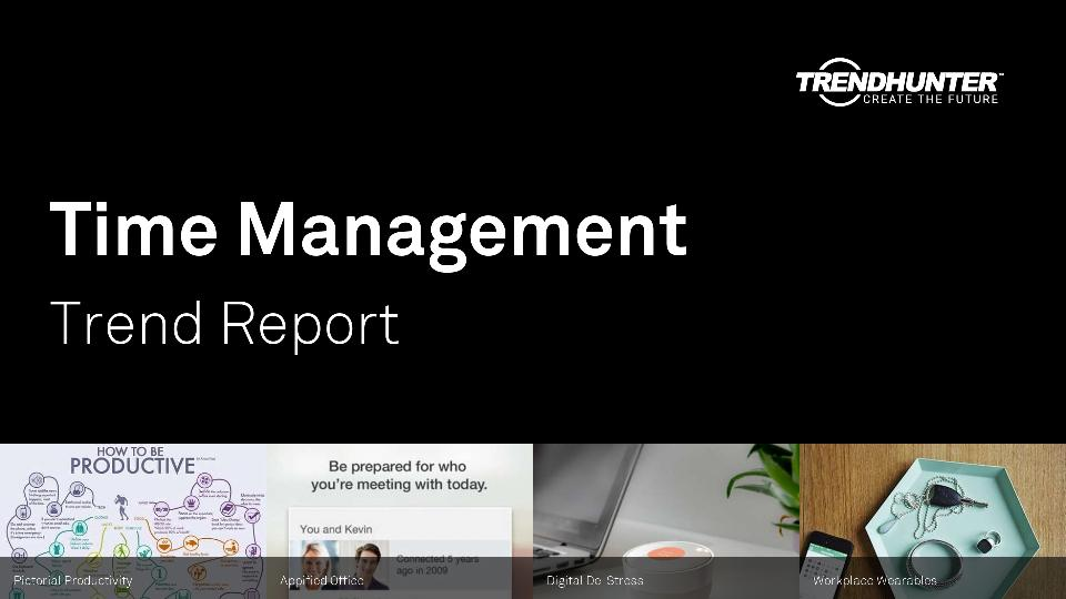 Time Management Trend Report Research