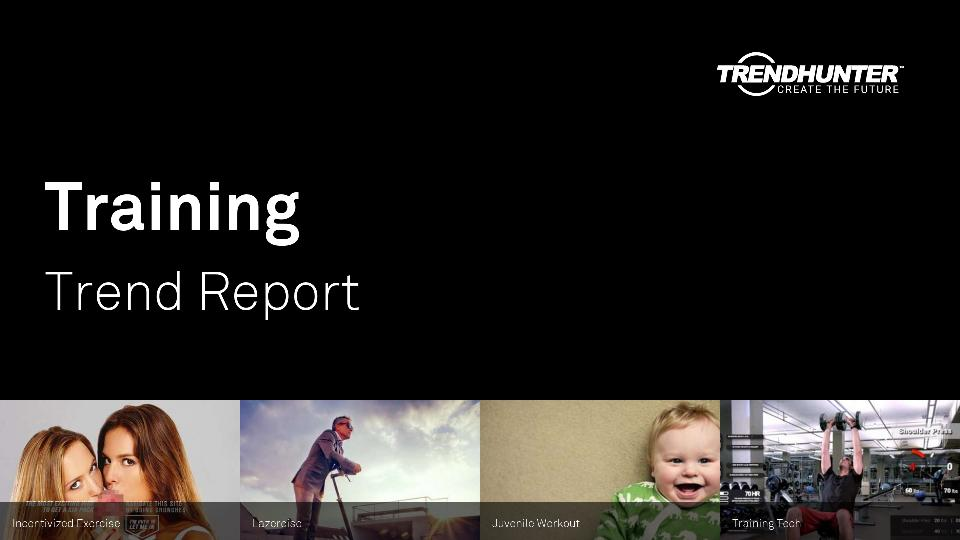 Training Trend Report Research