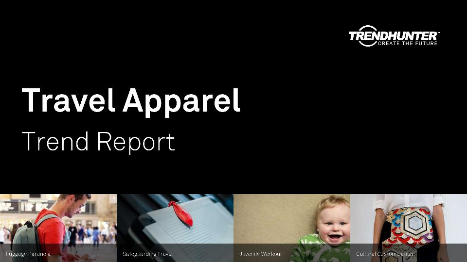 Travel Apparel Trend Report Research