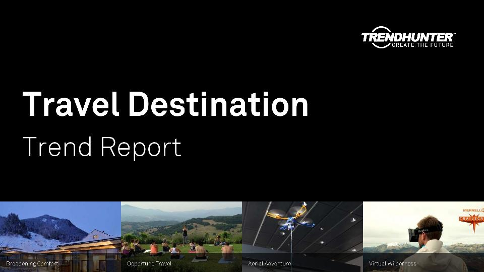 Travel Destination Trend Report Research