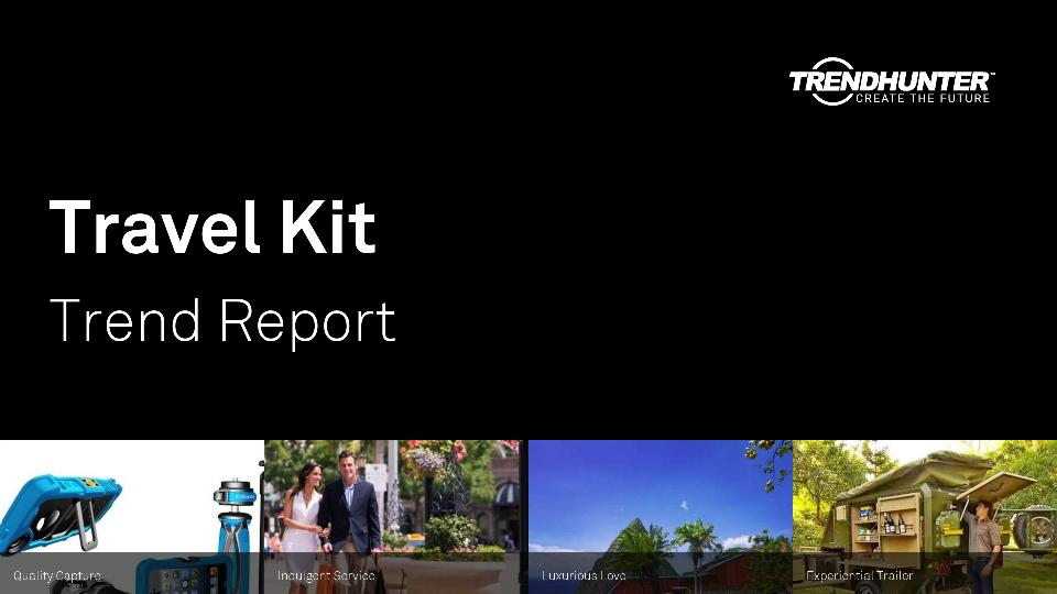 Travel Kit Trend Report Research
