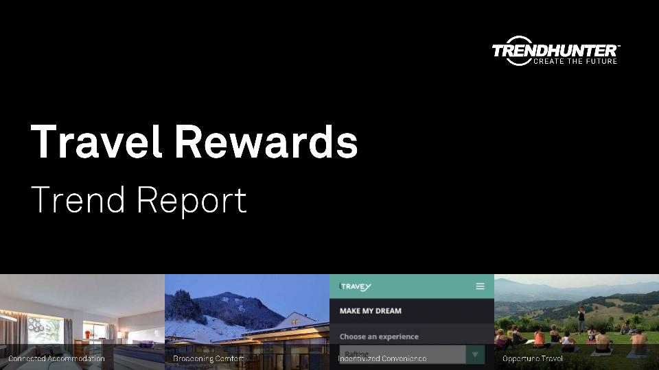 Travel Rewards Trend Report Research