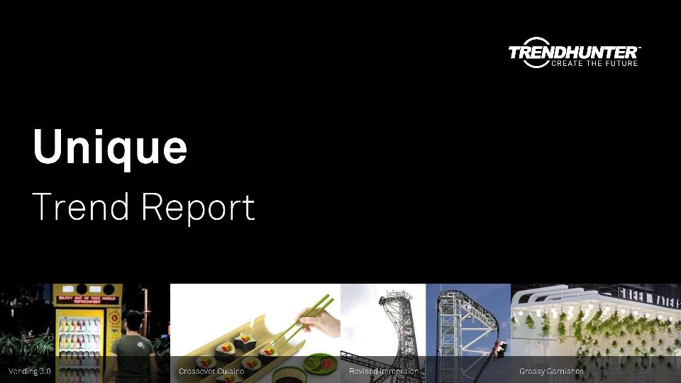 Unique Trend Report Research