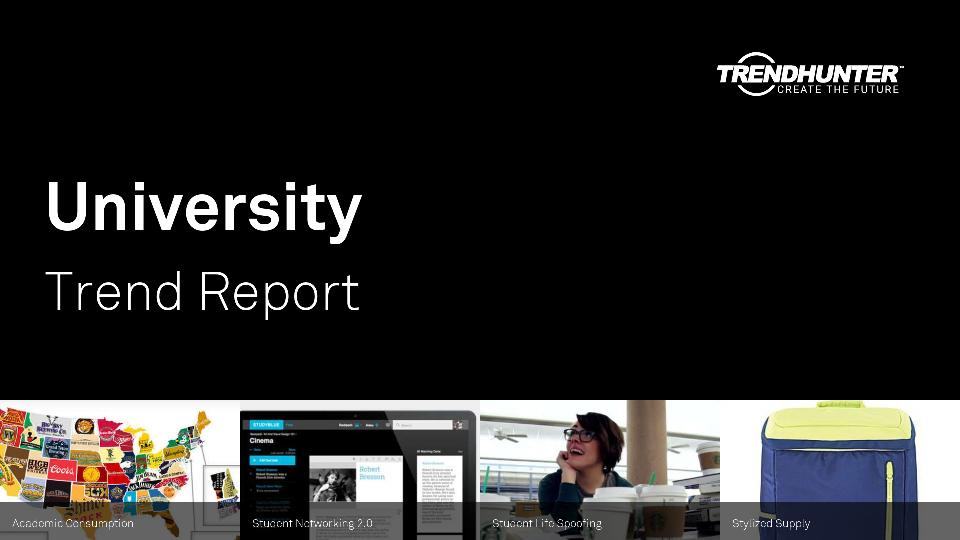 University Trend Report Research