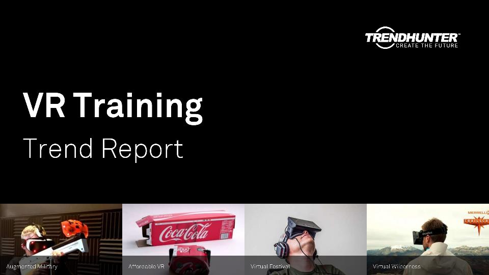 VR Training Trend Report Research