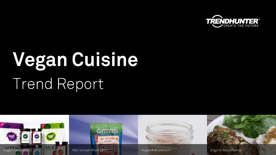 Vegan Cuisine Trend Report Research