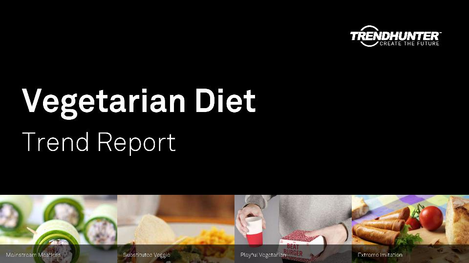 Vegetarian Diet Trend Report Research