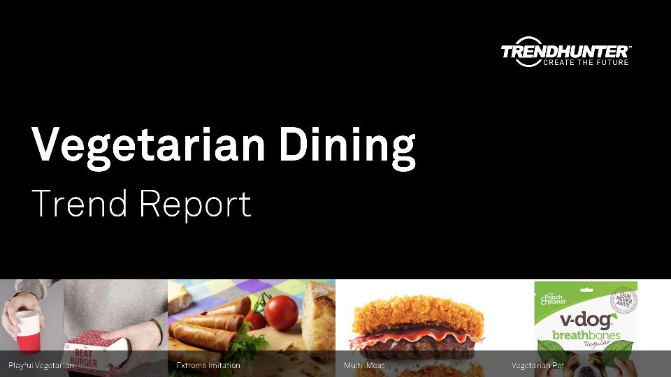 Vegetarian Dining Trend Report Research