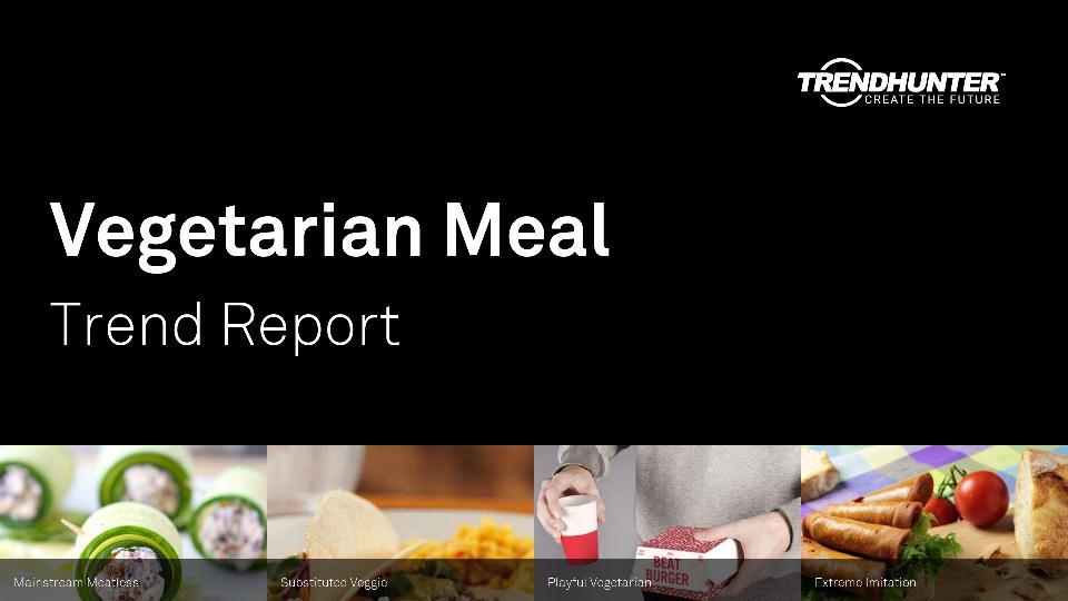 Vegetarian Meal Trend Report Research