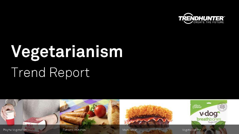 Vegetarianism Trend Report Research