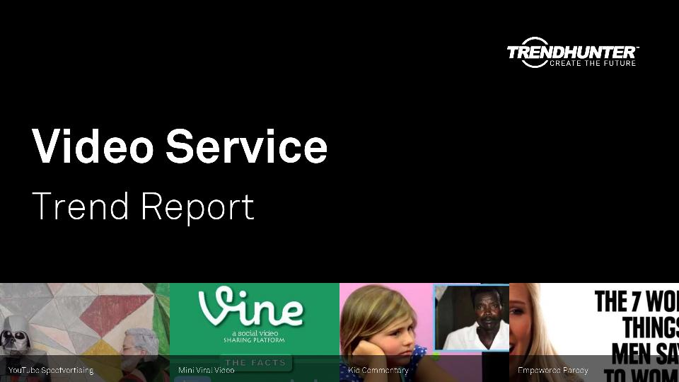 Video Service Trend Report Research