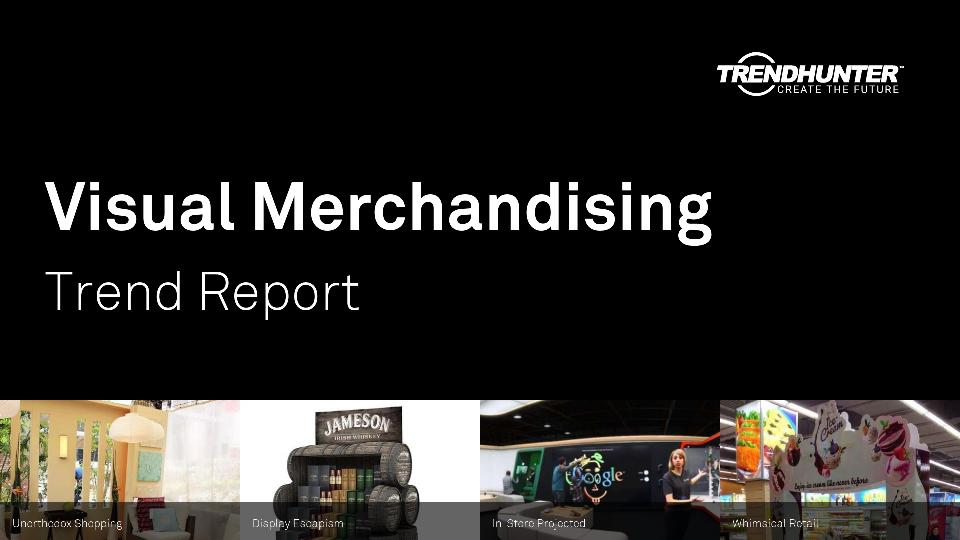 Visual Merchandising Trend Report Research
