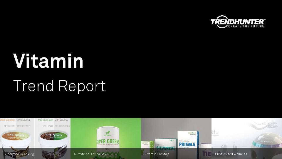 Vitamin Trend Report Research