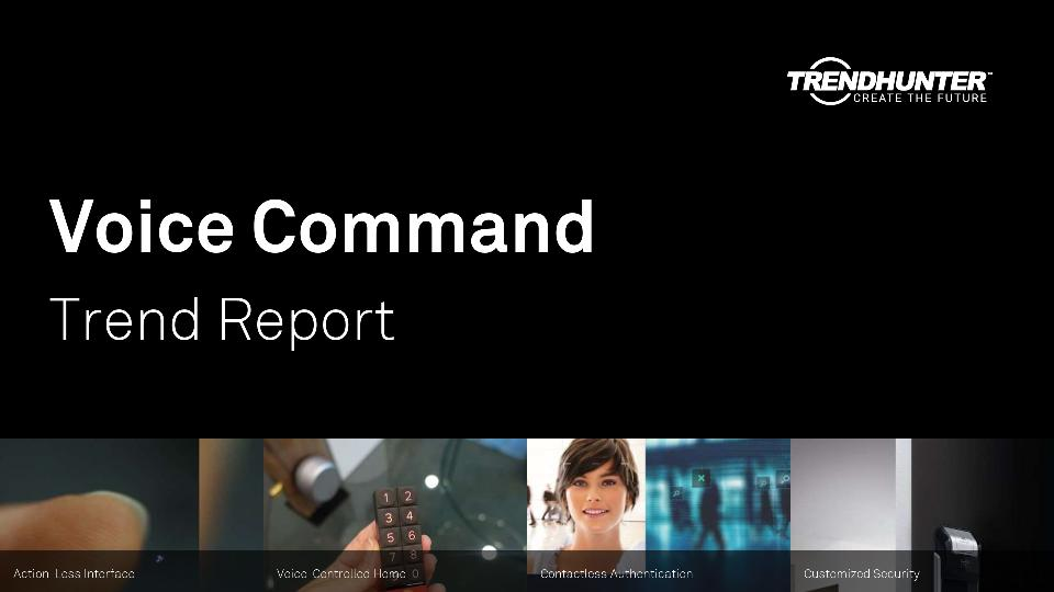 Voice Command Trend Report Research