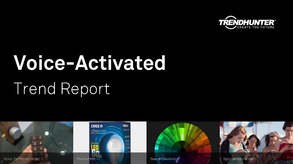 Voice-Activated Trend Report Research