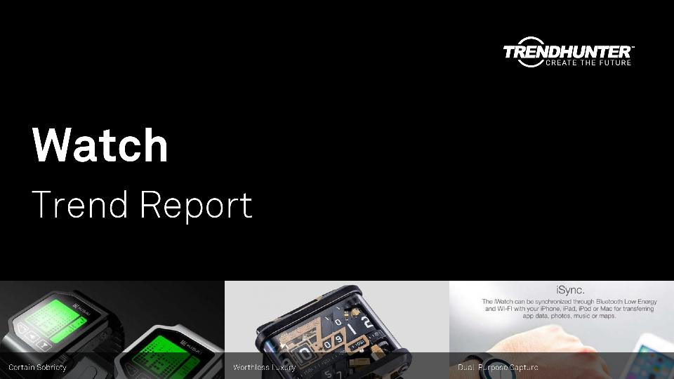 Watch Trend Report Research