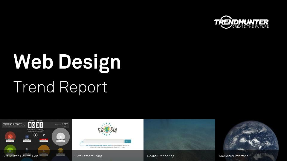 Web Design Trend Report Research