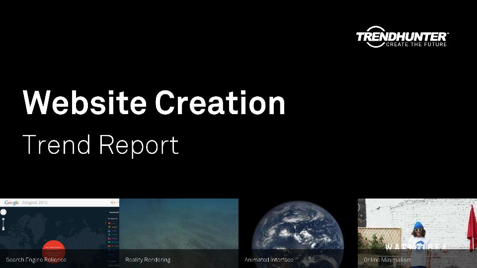 Website Creation Trend Report Research