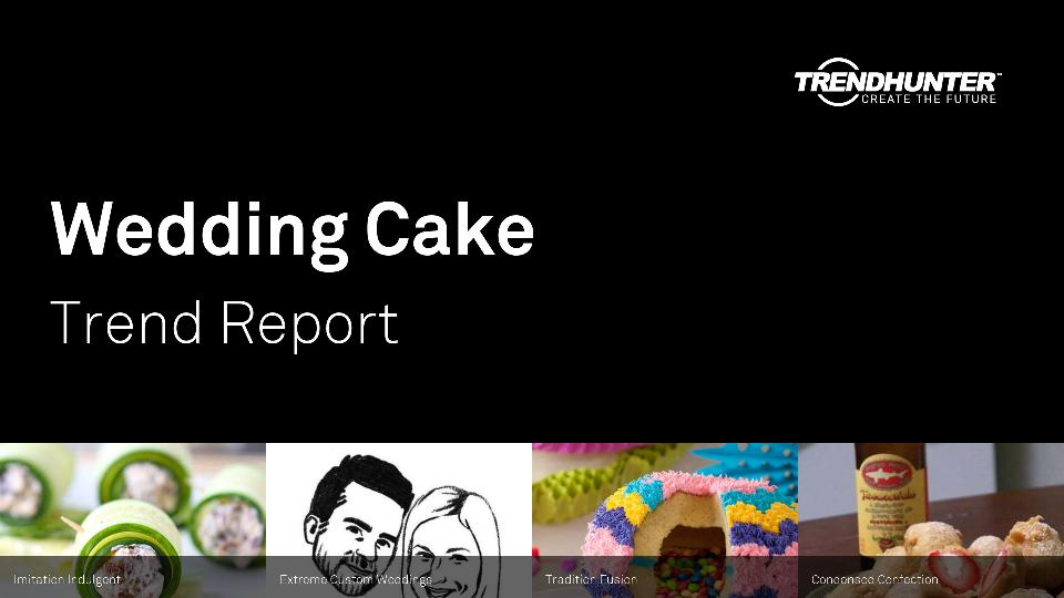 Wedding Cake Trend Report Research