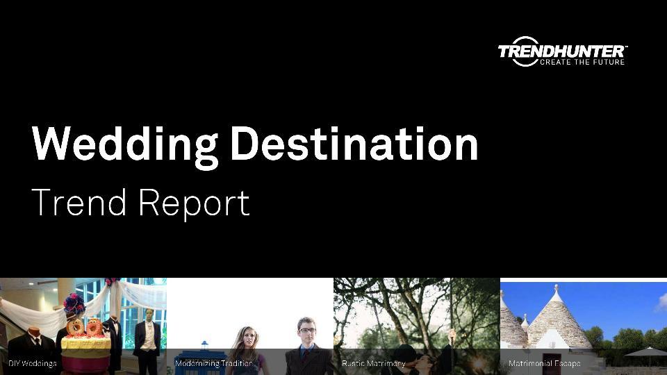 Wedding Destination Trend Report Research