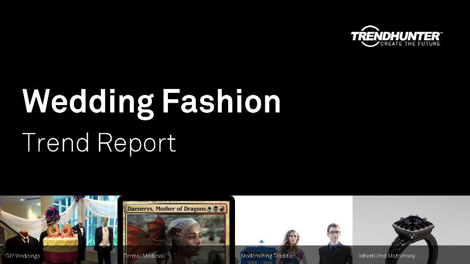 Wedding Fashion Trend Report Research