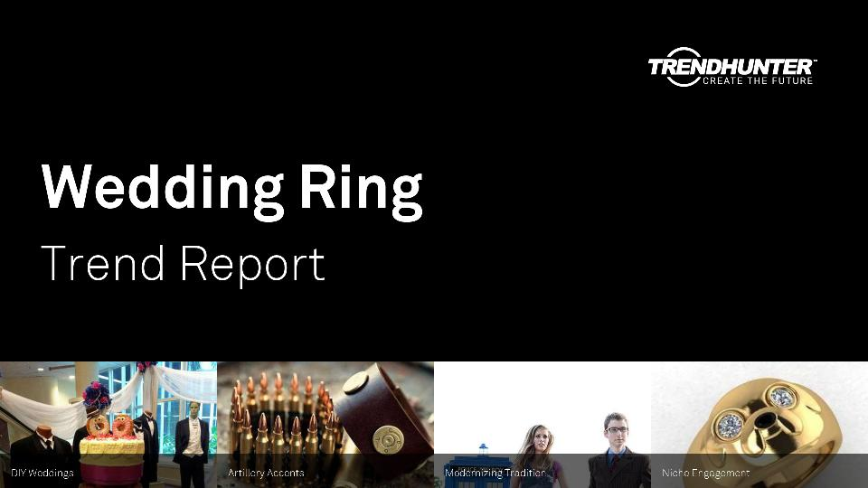 Wedding Ring Trend Report Research