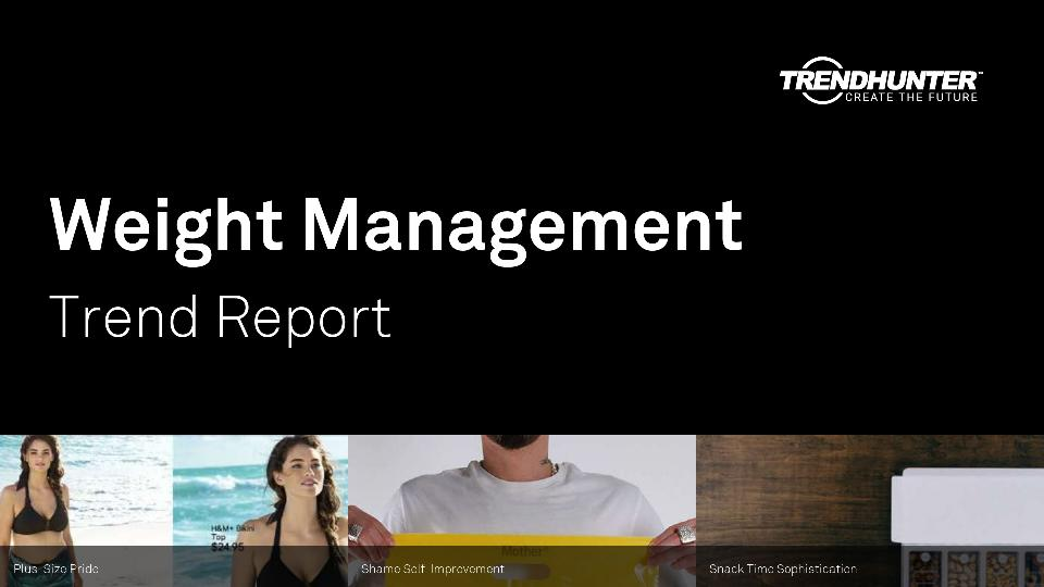 Weight Management Trend Report Research