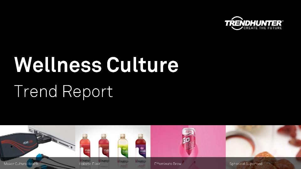 Wellness Culture Trend Report Research
