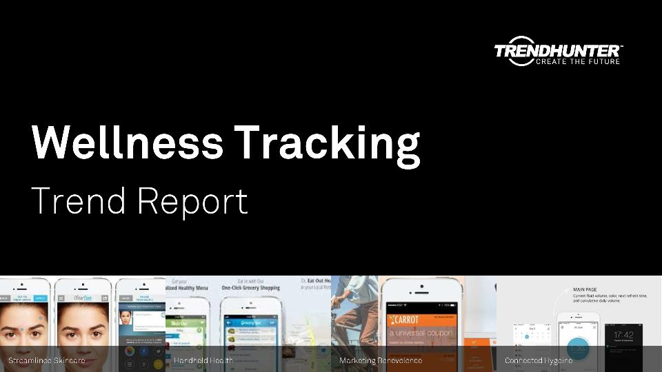 Wellness Tracking Trend Report Research