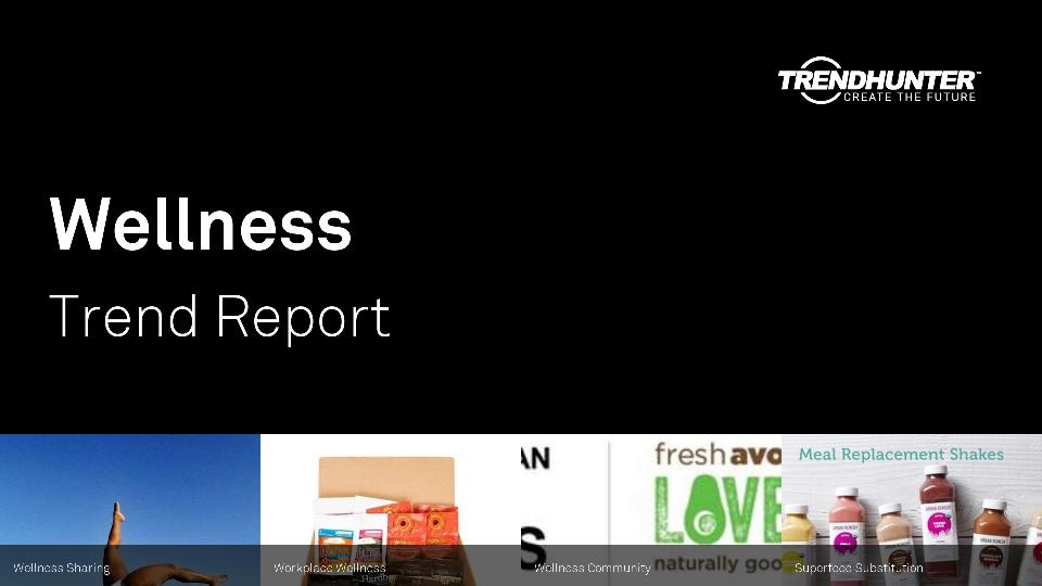 Wellness Trend Report Research