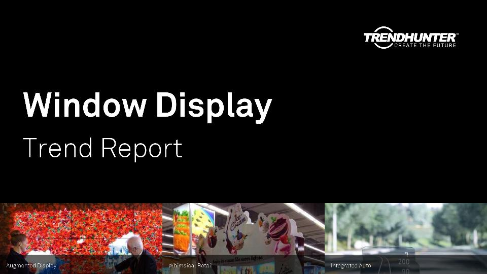 Window Display Trend Report Research