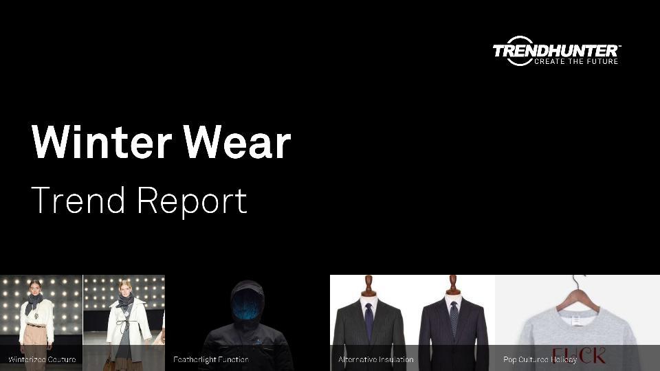Winter Wear Trend Report Research