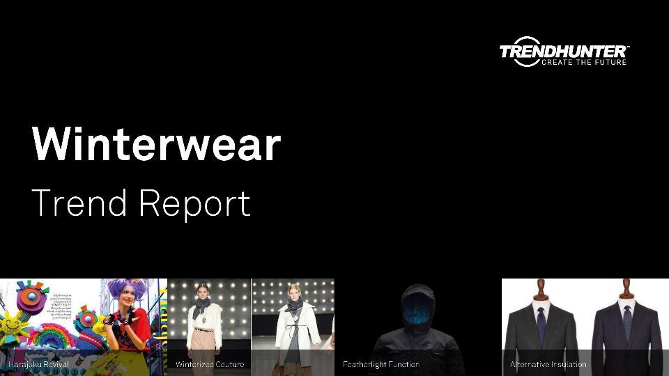 Winterwear Trend Report Research