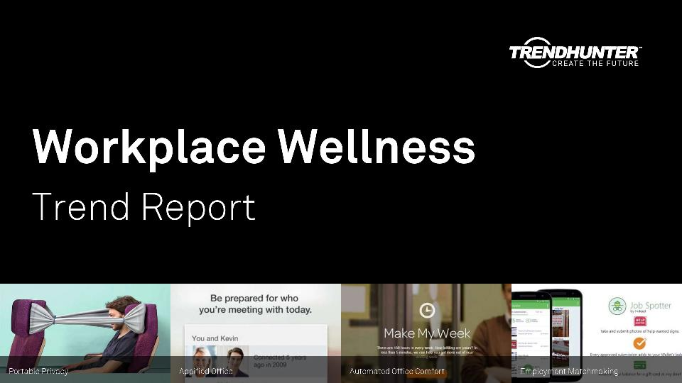 Workplace Wellness Trend Report Research