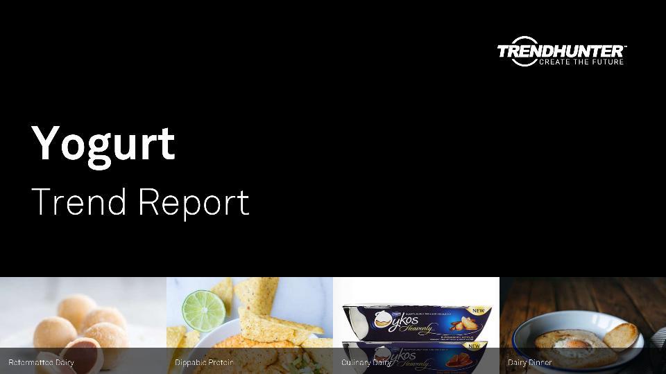 Yogurt Trend Report Research