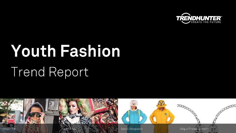 Youth Fashion Trend Report Research