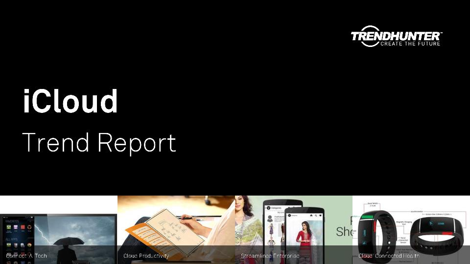 iCloud Trend Report Research