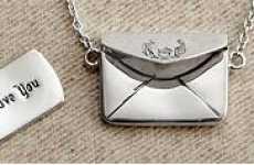 Romantic Envelope Lockets