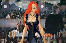 Cartoon-Infused Artworks