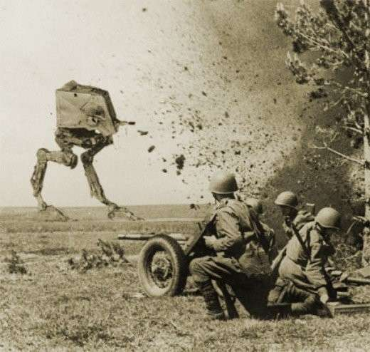 Historic Star Wars Photography