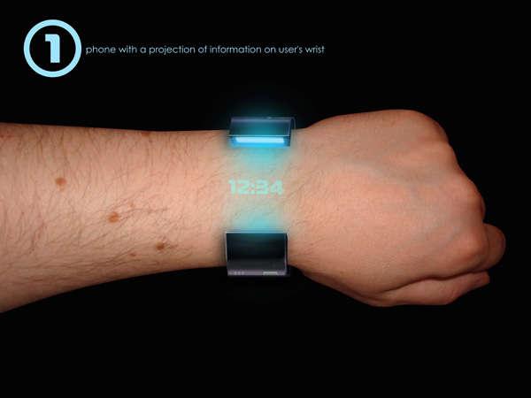 Futuristic Watch Phones