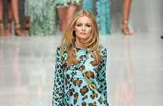 Vibrant Leopard Fashion