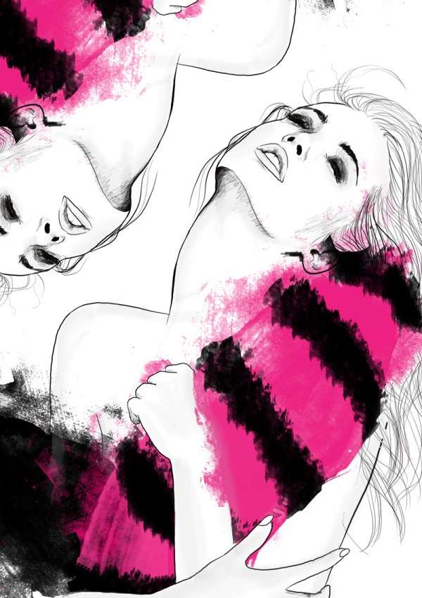 Foxy Fashion Illustrations