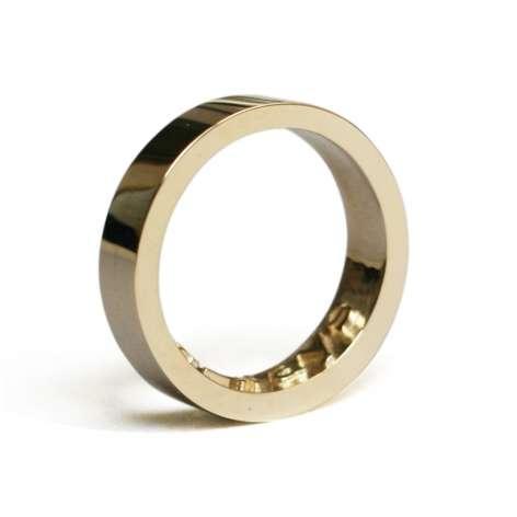 Impression-Leaving Rings