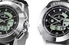 Radiation-Detecting Timepieces