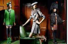 Feminine British Fashion