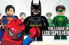 Bricked Comic Figurines