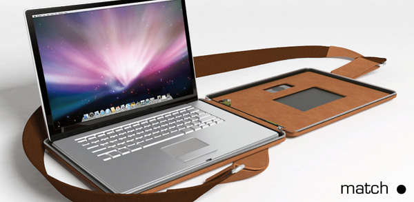Slim Leather Tech Bags