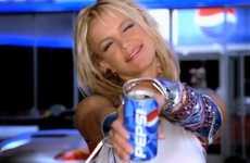 Celebrity-Celebrating Soda Ads